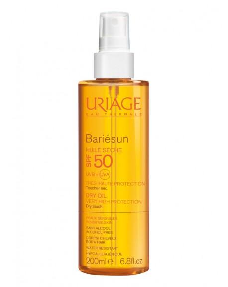 Uriage Bariesun purškiamas aliejus SPF50+  hipoalerginis 200ml