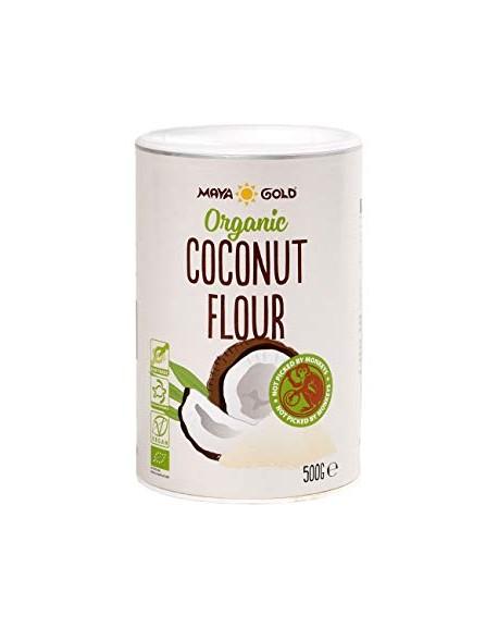 Ekologiški kokosų miltai 500g.