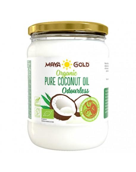 Bekvapis kokosų aliejus, ekologiškas 500ml