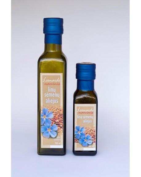 Linų sėmenų aliejus, 250 ml.