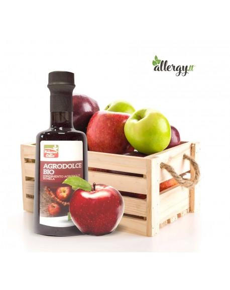 Ekologiškas obuolių acto ir sulčių užpilas salotoms