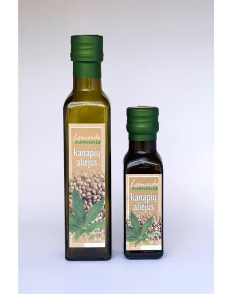 Kanapių sėklų aliejus 250 ml.