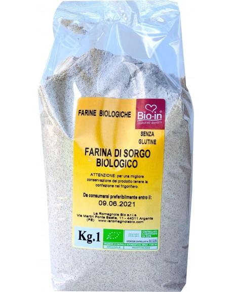 Sorgų miltai be glitimo, ekologiški, sertifikuoti 1kg.